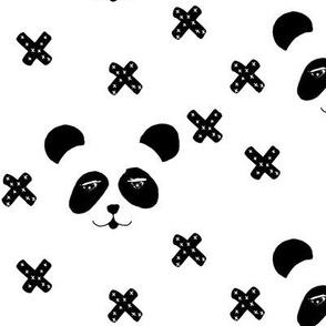panda & x's - by MiaMea