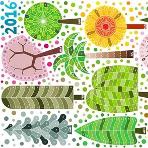 Tree calendar 2015 (updated 2016)