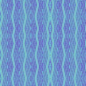 turquoise purple vertical diamonds tell3people