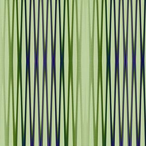 green purple blue vertical stripes tell3people