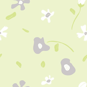 Blobby Florals