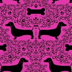 Dainty Dachshunds (Pink)