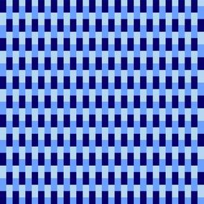 70s knit blue