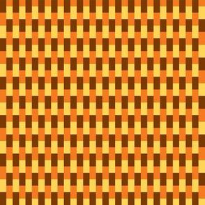 70s knit orange brown