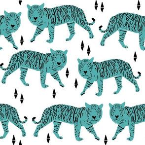 Tigers - White/