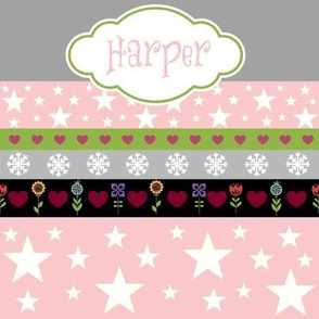 Holiday Star - pink-personalized HARPER