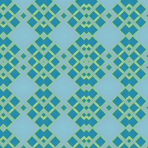 blue green diamonds tell3people