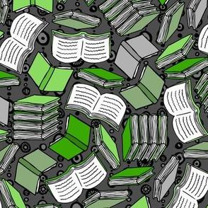 So Many Books... (Green)