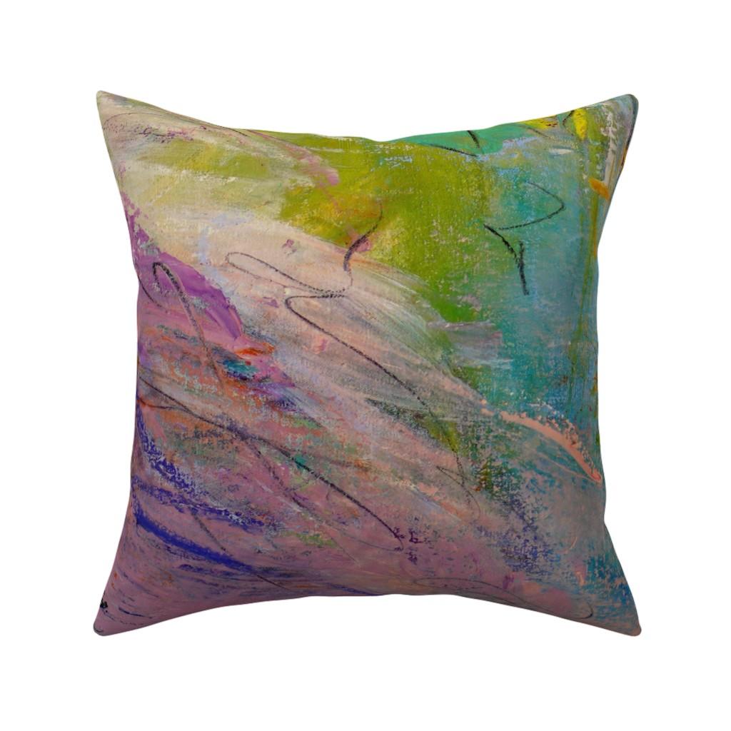 Catalan Throw Pillow featuring Italian Village Black & White by dorothyfaganartist