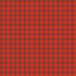 red maple gingham