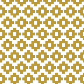 aztec in gold