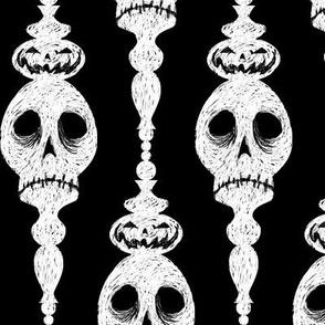 Scratch Board Skulls
