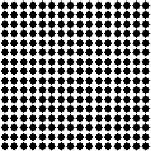 Casablanca star white-black small