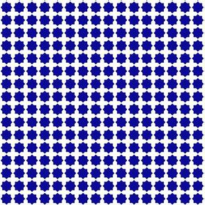 Casablanca star white-blue small