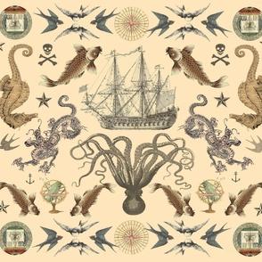 Nautical Tattoo LG