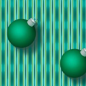 Green Ornaments on Bosque Stripe 1