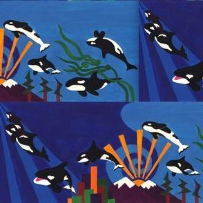 Orcas Ascending