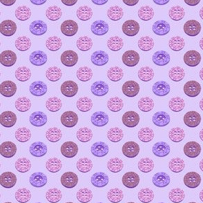 Rows of Buttons on_lilac.
