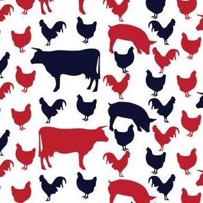 All American Farm ©2016 Jill Bull