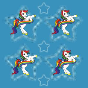 Rainbow Ponie Blue