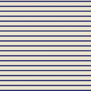 cobalt + cream stripe