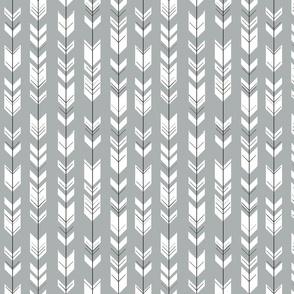 Fletching arrows (small scale) // grey