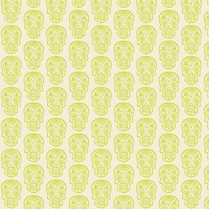 Sugar Skulls - Lime Green