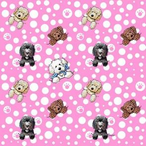 TINY Pocket DOODLES Pink