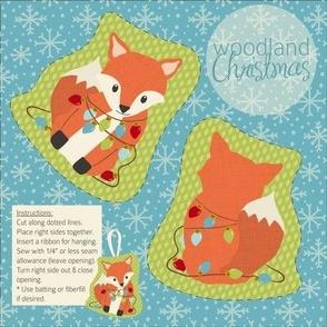 Woodland Christmas Fox
