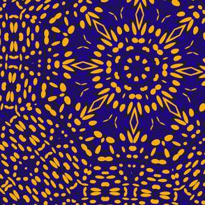 orange_black_blue_kaleidescope_pattern