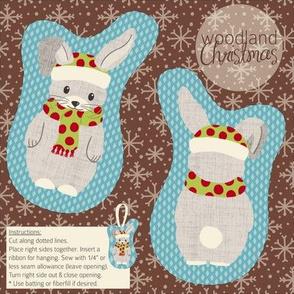Woodland Christmas Rabbit