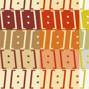Brackets: Reds, Oranges & Yellows
