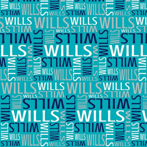 Wills - Teal
