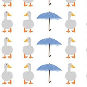 Ducks and Umbrellas