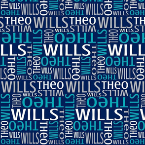 Theo and Wills - Navy