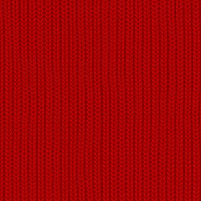 Faux Knit ~ Richelieu