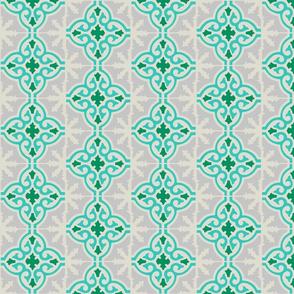 MARRUECOS - aqua and green