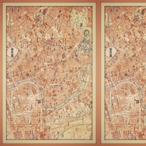 Rome map, small