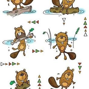 All the little beavers