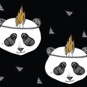 panda black - elvelyckan
