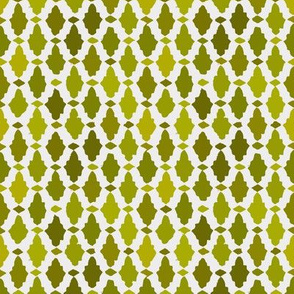 moroccan mosaic - chartreuse