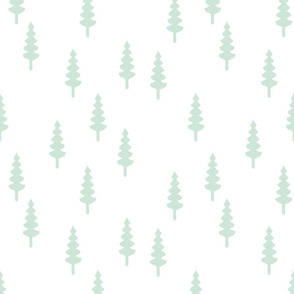 Mint tree // Woodland Collection