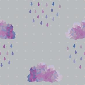 Prismatic Rain Clouds