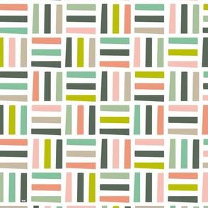 Nordic Block Quilt (Spring)