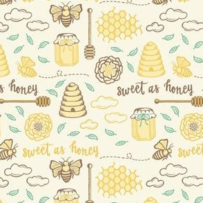 Sweet as Honey - gold