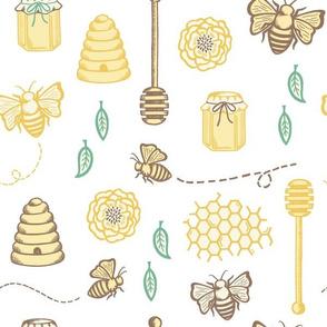 Sweet as Honey on white