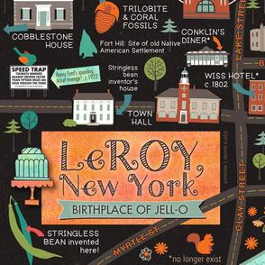 LeRoy NY - Birthplace of Jell-O