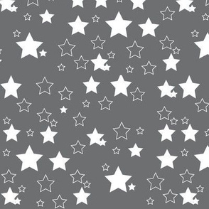 White and grey star
