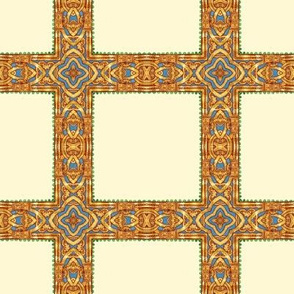 Illuminated Manuscript Grid