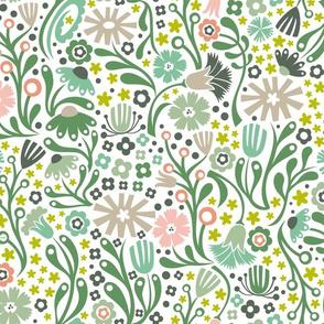 Nordic Suzani Floral (Spring)